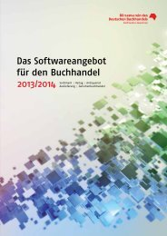Katalog - Börsenverein des Deutschen Buchhandels
