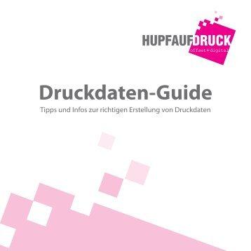 Druckdaten-Guide - Hupfauf Druck