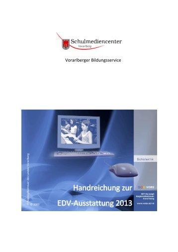 Handreichung zur EDV-Ausstattung 2013