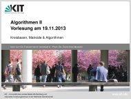 do - Algorithmik I - Karlsruher Institut für Technologie (KIT)