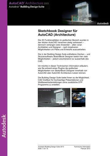 SketchBook Designer für AutoCAD Architecture - Autodesk
