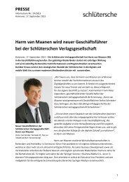 Harm van Maanen wird neuer Geschäftsführer bei der ...