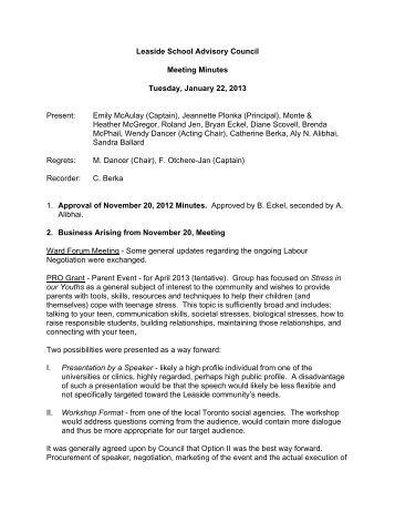 student council meeting minutes template - Monza berglauf-verband com