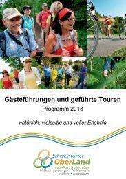 Download Wanderprogramm_2013.pdf - Schweinfurter OberLand