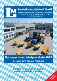 Katalog als Download - Landesberger Maschinenvertrieb GmbH