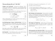 Zusammenfassung v06 vom 2. Mai 2013