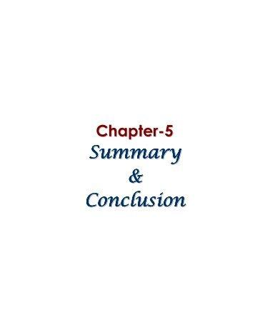 13_chapter 5.pdf - Shodhganga