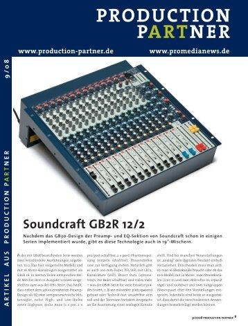 Soundcraft GB2R 12-2