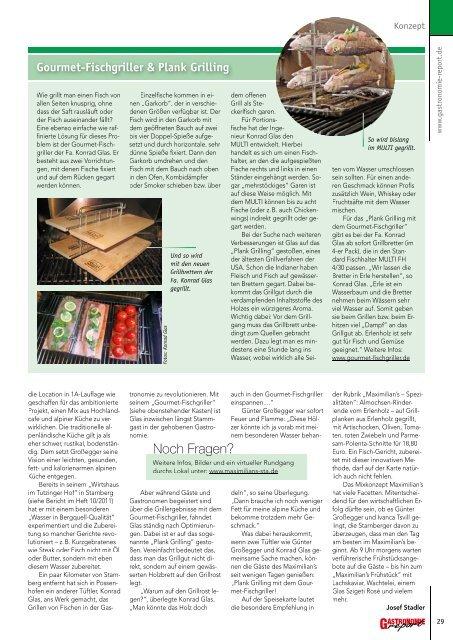 Gastronomie Report 03/2013