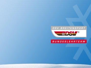 Methodik vs. Didaktik - Skiverband Schwarzwald