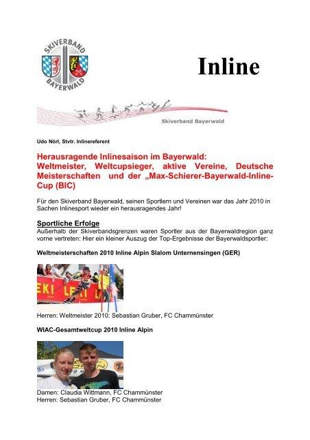 Inline - Skiverband Bayerwald