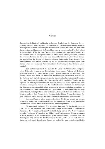 Einleitung / Laut und Buchstabe.pdf - Das slavische Verb
