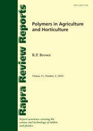 Polymers in Agriculture and Horticulture (2004)
