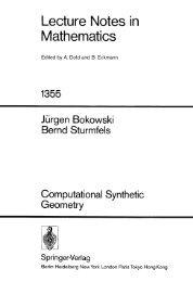 Sturmfels B. - Computational Synthetic Geometry(1989)(168).pdf
