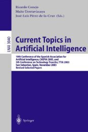 Current Topics in Artificial Intelligence : 10th Conference of the ...