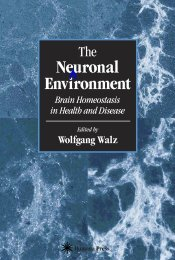 The Neuronal Environment Brain Homeostasis in Health and Disease