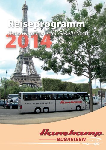 Katalog - Hanekamp Busreisen