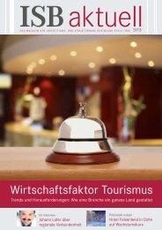 Wirtschaftsfaktor tourismus - und Strukturbank Rheinland-Pfalz (ISB)