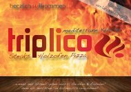 Mitnahmekarte als PDF - Neueröffnung: Triplico, Alte Brucker Straße ...