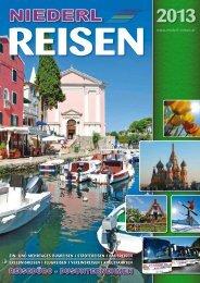 Programm als PDF herunterladen - NIEDERL Reisen