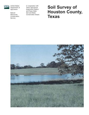Soil Survey of Houston County, Texas - Soil Data Mart