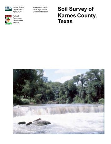 Soil Survey of Karnes County, Texas - Soil Data Mart - US ...