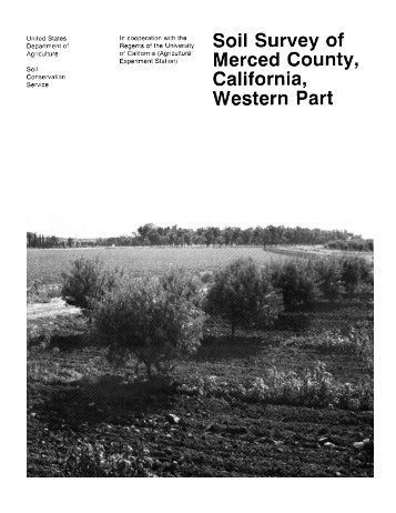 Soil Survey of Merced County, California, Western Part - Soil Data Mart