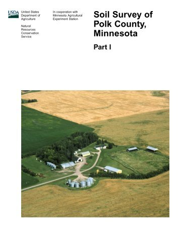 Soil Survey of Polk County, Minnesota - Soil Data Mart