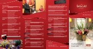 Kulinarischer Kalender 2013 - Hotel am Schloß