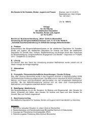 Bericht zur Quartiersentwicklung Altes Zentrum Blumenthal