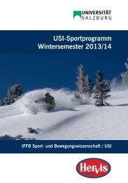 USI-Sportprogramm WS 2013/14 als PDF - IFFB Sport- und ...