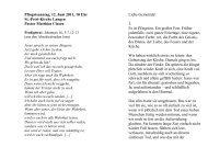 Von Gottes Geist berührt, Johannes 16, 5-7.12-3 - Ev.-luth ...