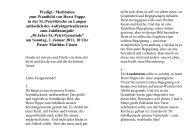 Predigt / Meditation zum Wandbild von Horst Poppe - Ev.-luth ...
