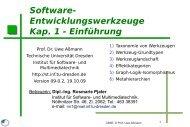 Software - Technische Universität Dresden