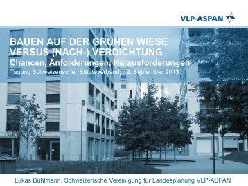 Referat von Lukas Bühlmann, Direktor Schweizerische Vereinigung ...