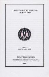 PUSAT STUDI WANITA - Staff Site Universitas Negeri Yogyakarta