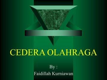 CEDERA OLAHRAGA - Staff UNY