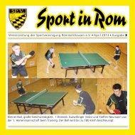 Vereinszeitung der Sportvereinigung Rommelshausen e.V. • April ...