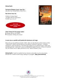 Michael Borlik The Book of Shadow Curses ... - Thienemann Verlag