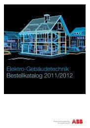 Elektro-Gebäudetechnik Bestellkatalog 2011/2012 - Standard ...