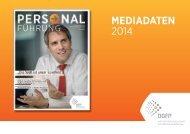 MEDIADATEN 2014 - Deutsche Gesellschaft für Personalführung e.V.