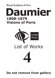 Daumier - The Royal Academy of Arts