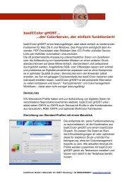 basICColor gHOST… …der ColorServer, der einfach funktioniert!