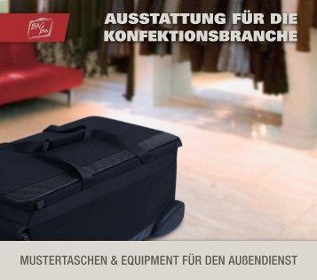 AUSSTATTUNG FüR DIE KONFEKTIONSBRANCHE - BAG PRO