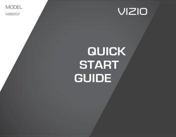 vizio sound bar remote control manual