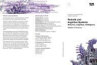 Robotik und kognitive Systeme - Studieren in Deutschland ...