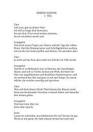 Gesangstexte als pdf - Styriarte