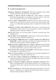 28 IV. LITERATURVERZEICHNIS Akiyama K., Matsuzaki K ...