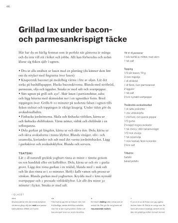 Grillad lax under bacon- och parmesankrispigt täcke - Sveriges Radio
