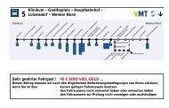Klinikum – Goetheplatz – Hauptbahnhof – Lützendorf ... - SW Weimar